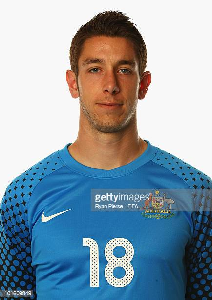 Brad Jones of Australia poses during the official FIFA World Cup 2010 portrait session on June 4 2010 in Johannesburg South Africa