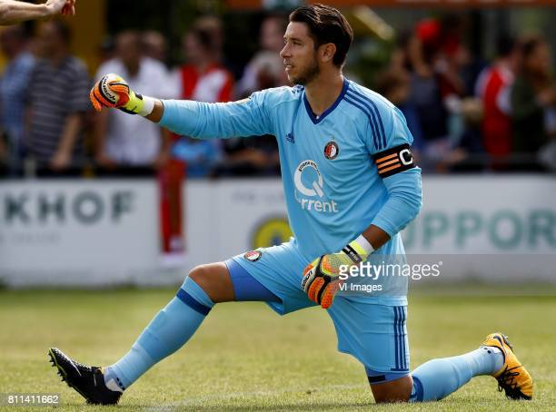 Brad Jones of Feyenoord during the friendly match between FC Lisse and Feyenoord Rotterdam at Sportpark Ter Specke on July 08 2017 in Lisse The...