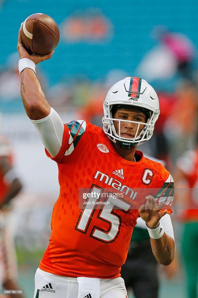 Florida A&M v Miami : News Photo