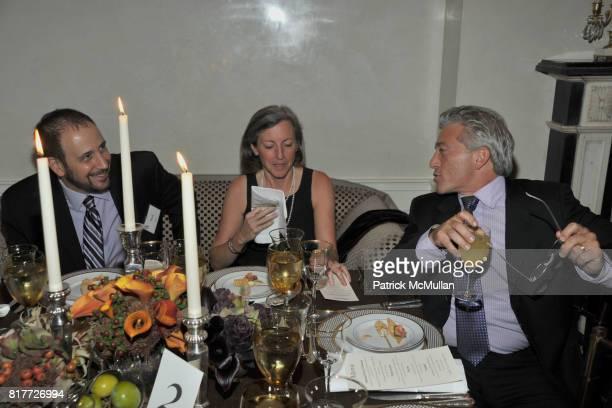 Brad Kaplan Ashley Garrett and Lenny Stern attend National Board of COMMUNITIES IN SCHOOLS Celebrate BILL MILLIKEN'S Birthday at the Residence of...