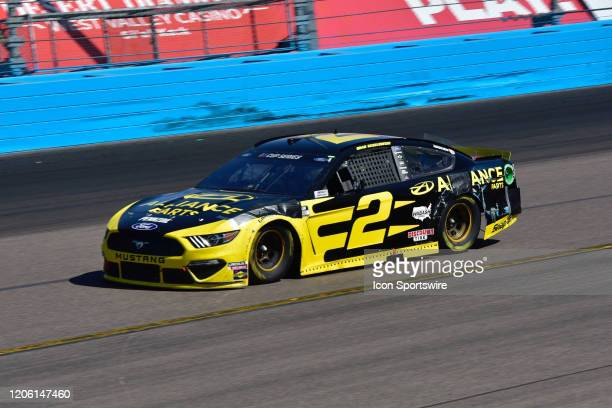 Brad Keselowski Alliance Parts Ford Team Penske on the track at the NASCAR Cup FanShield 500 on March 08 2020 at the Phoenix Raceway in Phoenix AZ