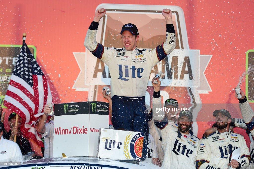 Monster Energy NASCAR Cup Series Alabama 500 : News Photo