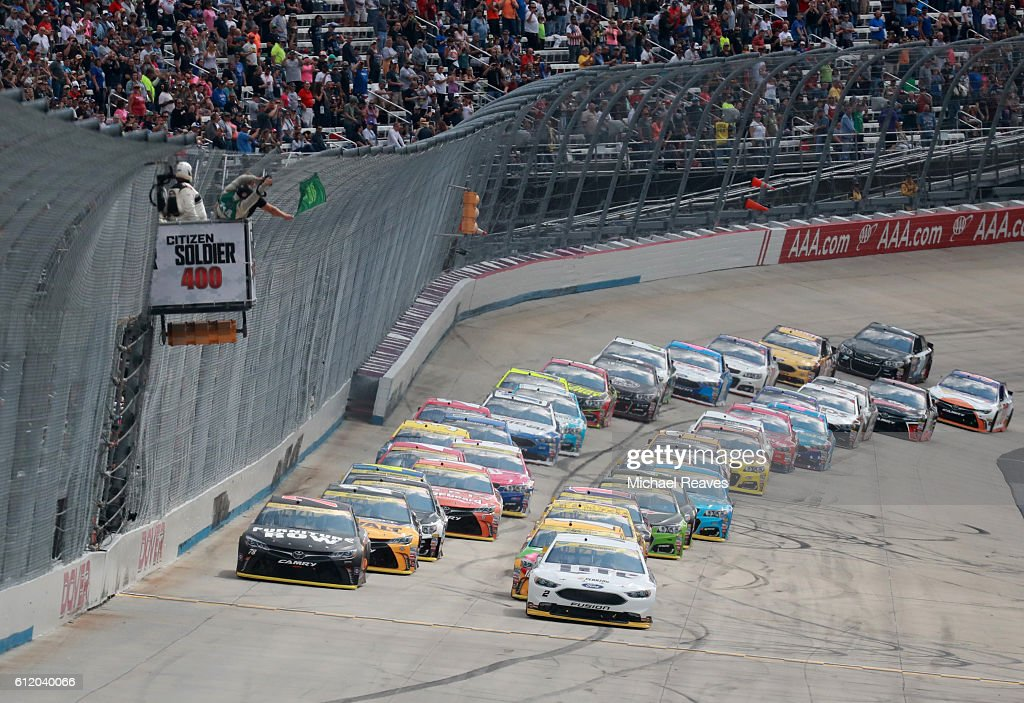 NASCAR XFINITY Series Drive Sober 200 : News Photo