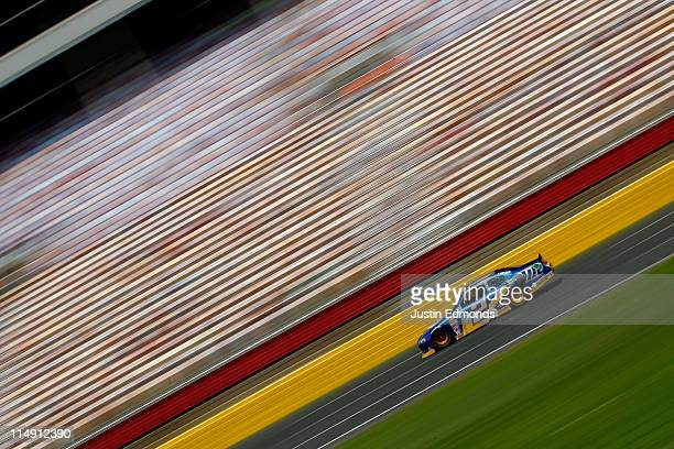 Brad Keselowski drives the Miller Lite Dodge during practice for the NASCAR Sprint Cup Series CocaCola 600 at Charlotte Motor Speedway on May 28 2011...