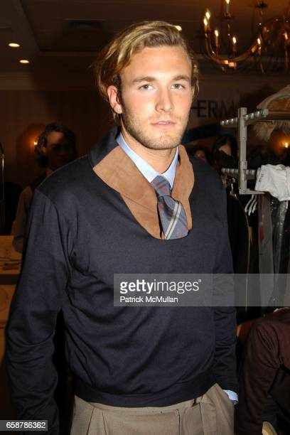 Brad Koenig attend Matthew Earnest Fashion Show at The Princeton Club on February 7 2004 in New York City