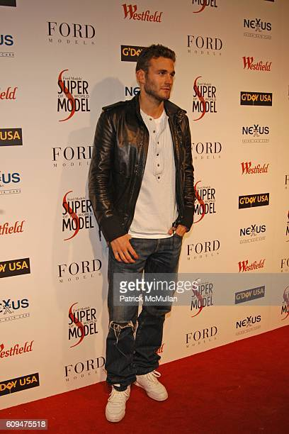 Brad Kroenig attends WESTFIELD and NEXXUS SALON HAIR CARE Host the Ford Supermodel of the World 2006/2007 at Skylight Studios on January 17 2007 in...