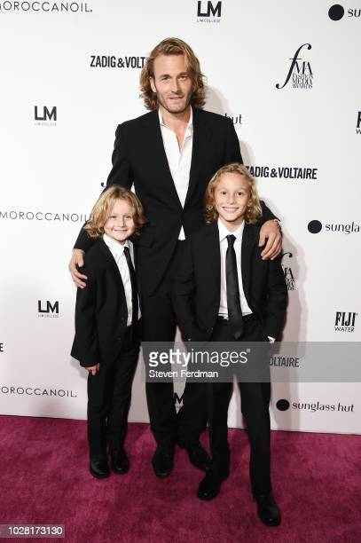 Brad Kroenig Hudson Kroenig and Jameson Kroenig attend Daily Front Row's Fashion Media Awards presented by ZadigVoltaire Sunglass Hut Moroccan Oil...