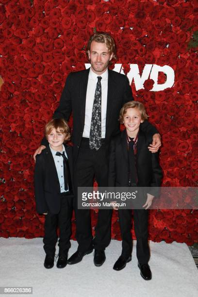 Brad Kroenig Hudson Kroenig and Jameson Kroenig attend the 2017 WWD Honors at The Pierre Hotel on October 24 2017 in New York City