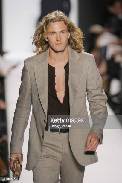 Brad Kroenig wearing Michael Kors Spring 2005