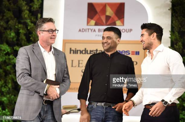 Brad Loiselle President and CEO BetterU Deepinder Goyal Founder and CEO Zomato Jeremy Jauncey Founder and CEO Beautiful Destinations during the...