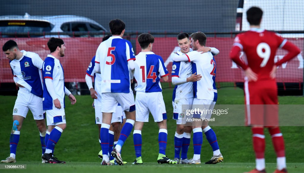 Liverpool U23 v Blackburn Rovers U23: Premier League 2 : News Photo