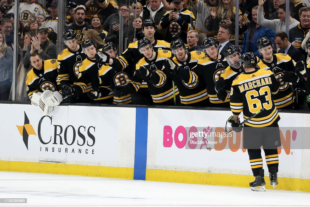 New Jersey Devils v Boston Bruins : News Photo