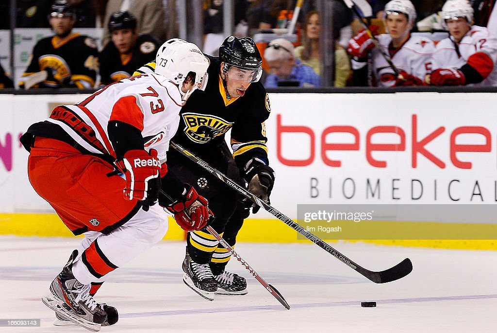 Carolina Hurricanes v Boston Bruins : News Photo