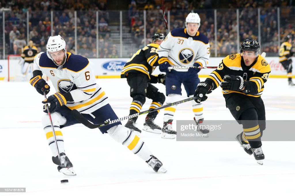 Buffalo Sabres v Boston Bruins : News Photo