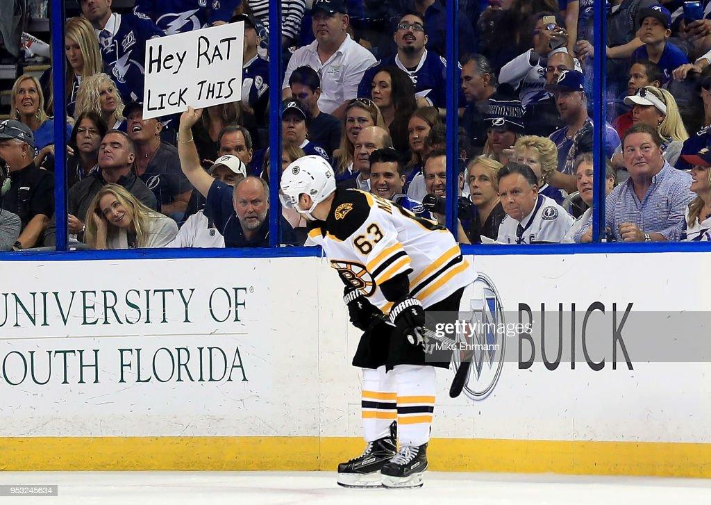 Boston Bruins v Tampa Bay Lightning - Game Two : News Photo