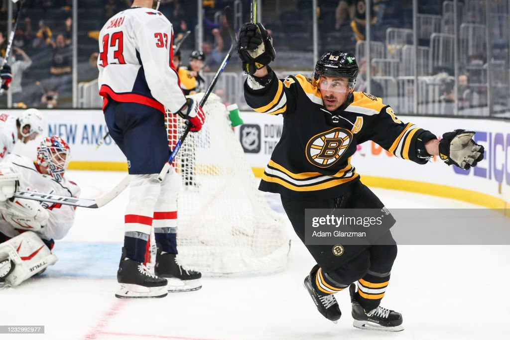 Washington Capitals v Boston Bruins - Game Three : News Photo