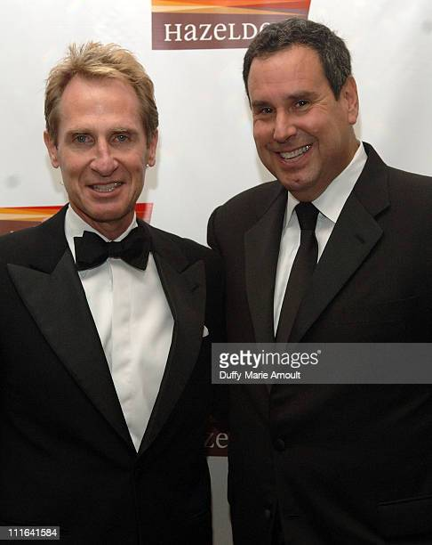 Brad Martin and Chairman/CEO of Saks Fifth Avenue Steve Sadove attend Hazelden's New York Awards Dinner Hosted by Bill Moyers at the Pierre Grand...