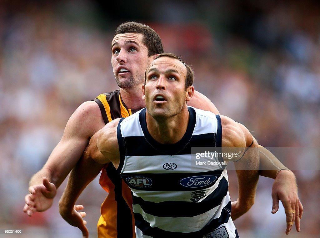 AFL Rd 2 - Hawks v Cats
