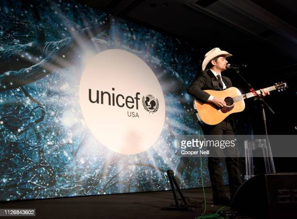 Brad Paisley and Kimberly WilliamsPaisley at the 2nd Annual UNICEF Gala 2019 at The RitzCarlton Dallas on February 01 2019 in Dallas Texas