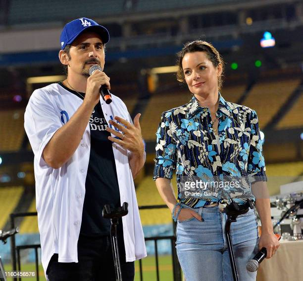 Brad Paisley and Kimberly WilliamsPaisley attend FIJI Water Official Water of Clayton Kershaw's 7th Annual Ping Pong 4 Purpose Fundraiser at Dodger...