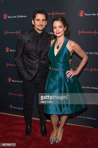 Brad Paisley and Kimberly WilliamsPaisley attend the 3rd Annual Save The Children Illumination Gala at The Plaza Hotel on November 17 2015 in New...