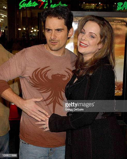 Brad Paisley and Kimberly WilliamsPaisley during We Are Marshall Los Angeles Premiere Arrivals at Grauman's Chinese Theatre in Hollywood California...