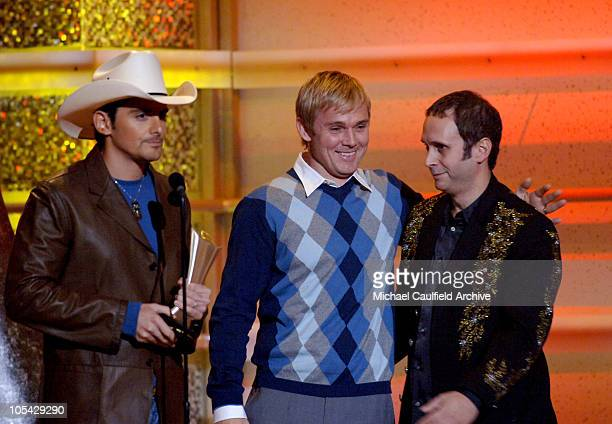 Brad Paisley and Rick Schroder during 40th Annual Academy of Country Music Awards Show at Mandalay Bay Resort and Casino Events Center in Las Vegas...