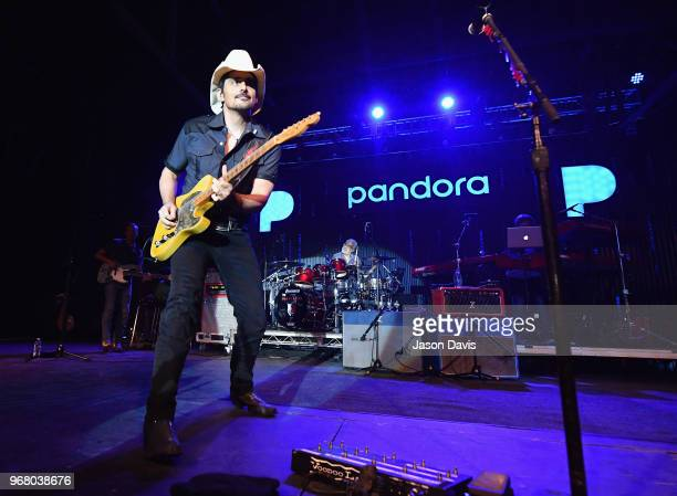 Brad Paisley at Pandora Presents Backroads at Marathon Music Works on June 5 2018 in Nashville Tennessee