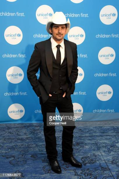 Brad Paisley at the 2nd Annual UNICEF Gala 2019 at The RitzCarlton Dallas on February 01 2019 in Dallas Texas