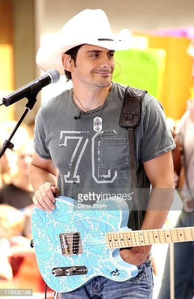"""Brad Paisley during Brad Paisley Performs on NBC's """"Today Show Summer Concert Series"""" - June 2, 2006 at Rockafeller Plaza in New York City, New York,..."""