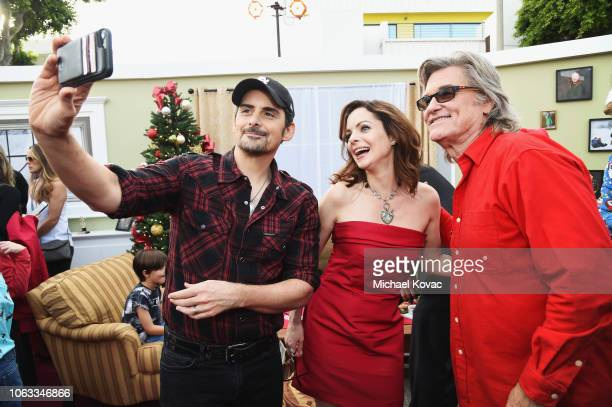 Brad Paisley Kimberly WilliamsPaisley and Kurt Russell attend The Christmas Chronicles Premiere on November 12 2018 in Los Angeles California
