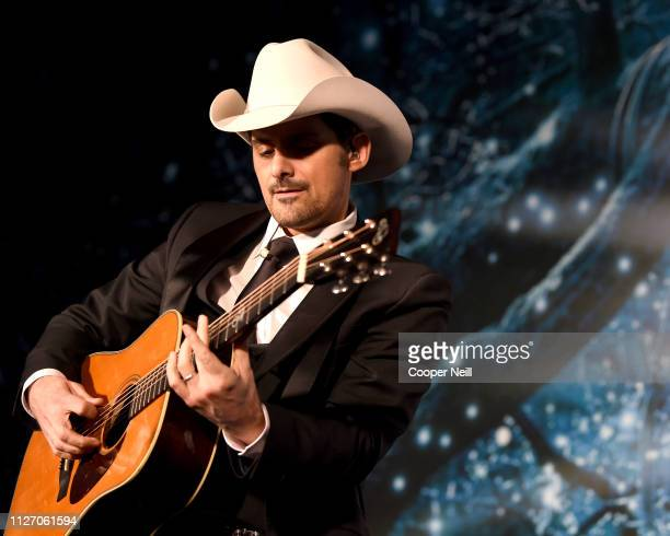 Brad Paisley performs at the 2nd Annual UNICEF Gala 2019 at The RitzCarlton Dallas on February 01 2019 in Dallas Texas