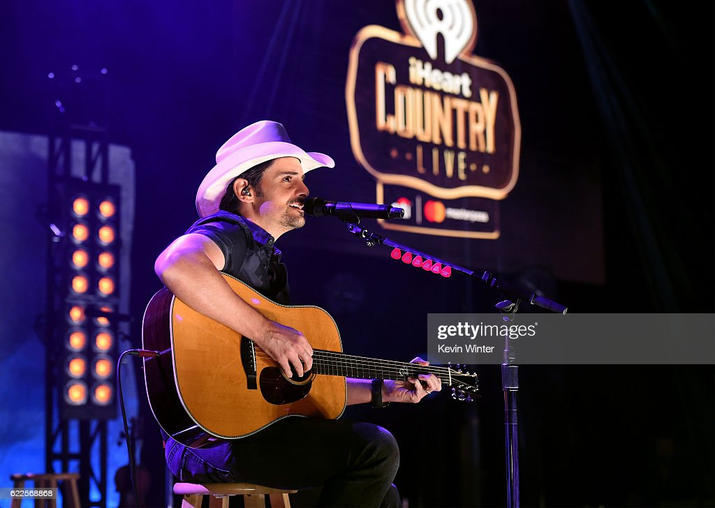 iHeartCountry Live With Brad Paisley Presented By Citi MasterPass : News Photo