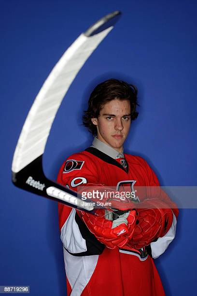 Brad Peltz of the Ottawa Senators poses for a portrait during the 2009 NHL Entry Draft at the Bell Centre on June 27 2009 in Montreal Quebec Canada