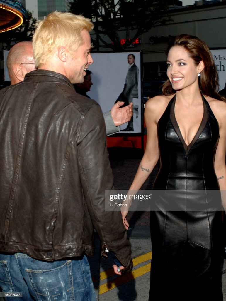 """""""Mr. And Mrs. Smith"""" Los Angeles Premiere - Red Carpet : News Photo"""
