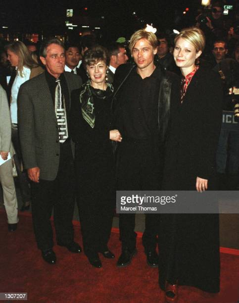 Brad Pitt and Gwyneth Paltrow brought his mom to the NY premiere of his latest movie 'The Devil''s Own' in New York City March 13 1997 On July 27 it...