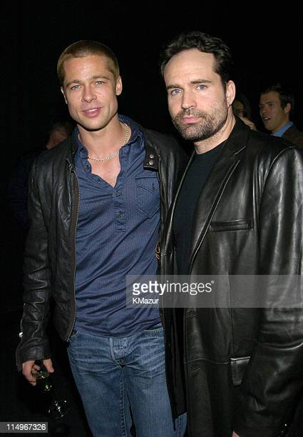 Brad Pitt and Jason Patric during 2nd Annual Audi and Conde Nast Never Follow Campaign Honoring the Careers of Four Innovators at The Manhattan...