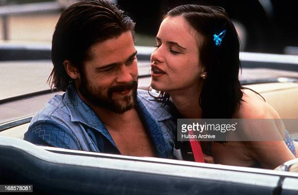 Brad Pitt and Juliette Lewis in a scene from the film 'Kalifornia' 1993