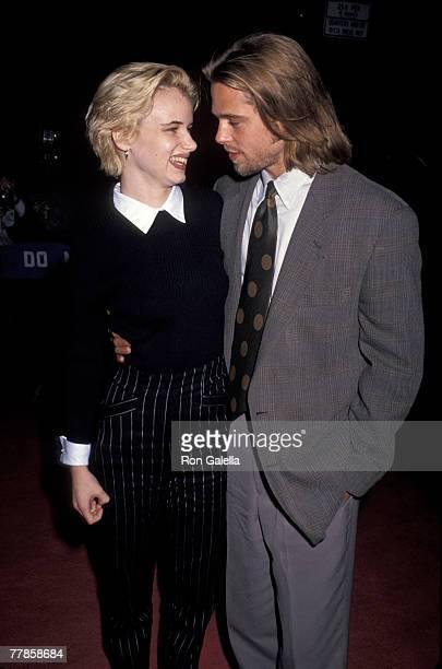 Brad Pitt and Juliette Lewis