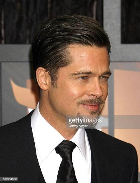 Brad Pitt arrives at the 14th Annual Critics' Choice Awards at the Santa Monica Civic Center on January 8, 2009 in Santa Monica, California.