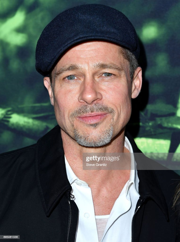 Brad Pitt arrives at the Premiere Of Amazon Studios' 'The Lost City Of Z' at ArcLight Hollywood on April 5, 2017 in Hollywood, California.