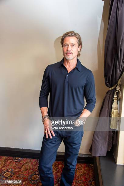 Brad Pitt at the Ad Astra Press Conference at the Hollywood Roosevelt Hotel on September 18 2019 in Hollywood California