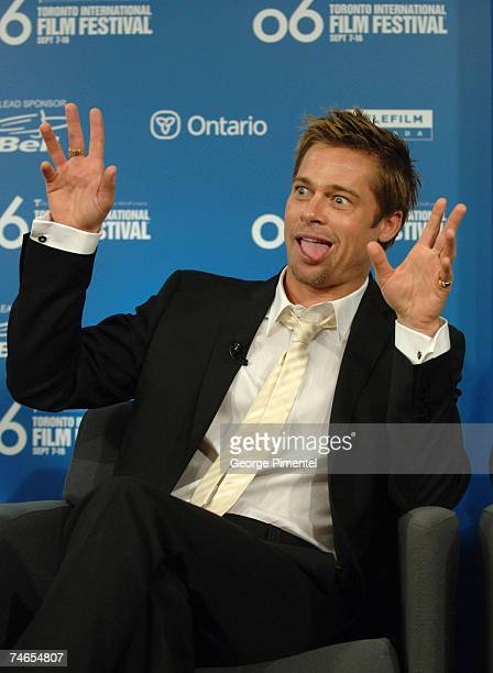 Brad Pitt at the Sutton Place in Toronto Canada