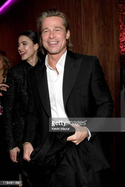 Brad Pitt attends PEOPLE's Annual Screen Actors Guild Awards Gala at The Shrine Auditorium on January 19, 2020 in Los Angeles, California.