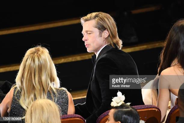 Brad Pitt attends the 92nd Annual Academy Awards at Dolby Theatre on February 09 2020 in Hollywood California