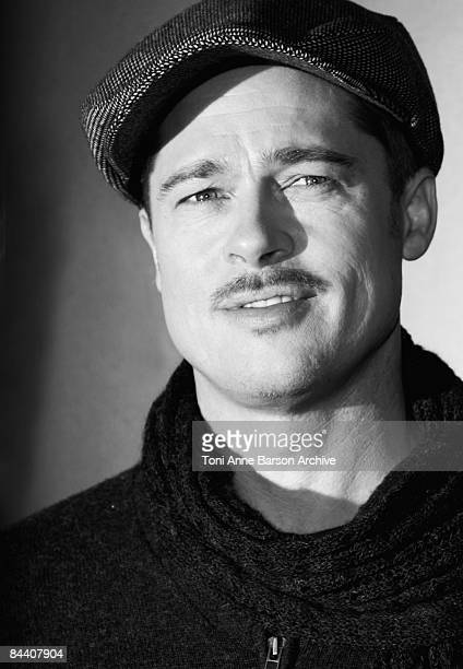 Brad Pitt attends The Curious Case of Benjamin Button Paris photocall on January 22 2009 at the Georges V Hotel in Paris France