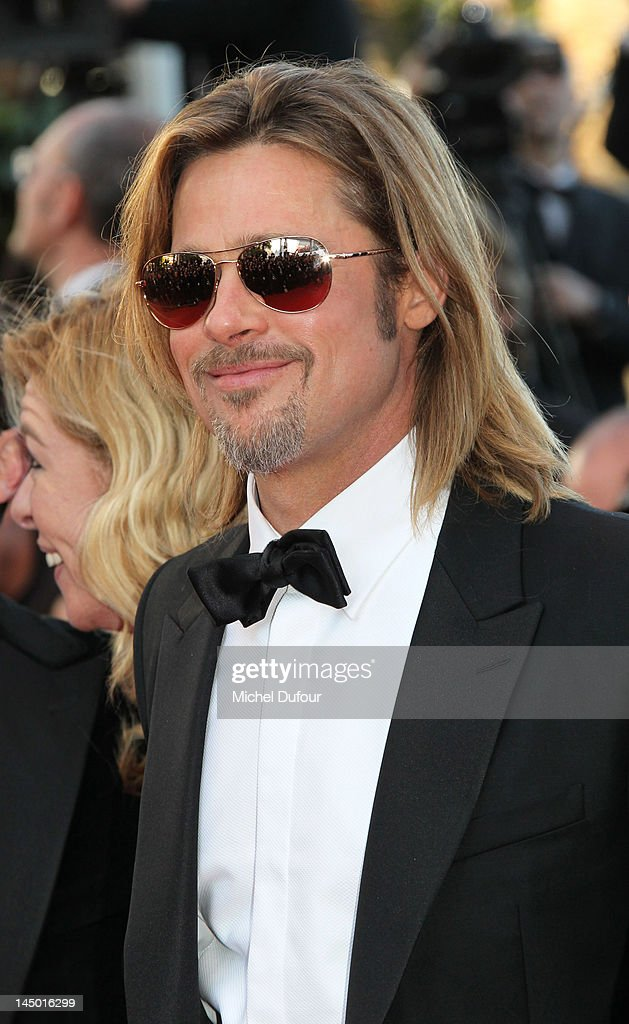 Brad Pitt attends the 'Killing Them Softly' Premiere during 65th Annual Cannes Film Festival at Palais des Festivals on May 22, 2012 in Cannes, France.