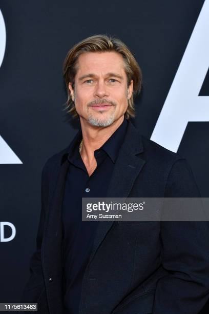 "Brad Pitt attends the premiere of 20th Century Fox's ""Ad Astra"" at The Cinerama Dome on September 18, 2019 in Los Angeles, California."