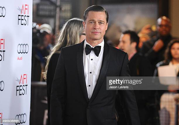 Brad Pitt attends the premiere of 'By the Sea' at the 2015 AFI Fest at TCL Chinese 6 Theatres on November 5 2015 in Hollywood California