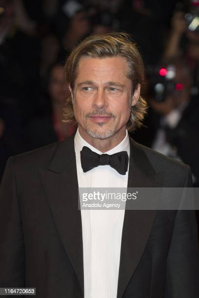 Brad Pitt attends the red carpet of AD ASTRA during the 76th Venice Film Festival on August 29 2019 in Venice Italy